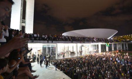 Protesto-Brasilia