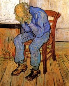 o-velho-homem-triste van gogh