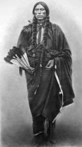 quanah parker comanche chief, by steeelll