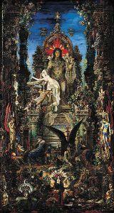 Gustave_Moreau_Zeus e Sêmele