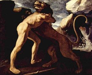 heracles-slays-the-lion-of-nemea
