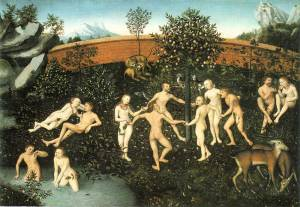 Lucas Cranach de elder = the golden age