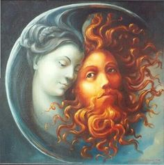 moon an d sun