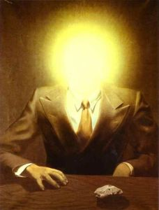 Magritte-The Pleasure Principle Portrait of Edward James 1937