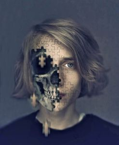 Self Portrait of the Artist - 18-Year-Old Creates Surreal Artworks to Express Emotions - My Modern Metropolis