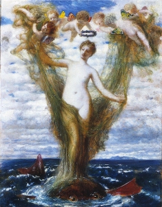 Arnold_Böcklin-Venus-Anadyomene-venus rising from the sea-1872